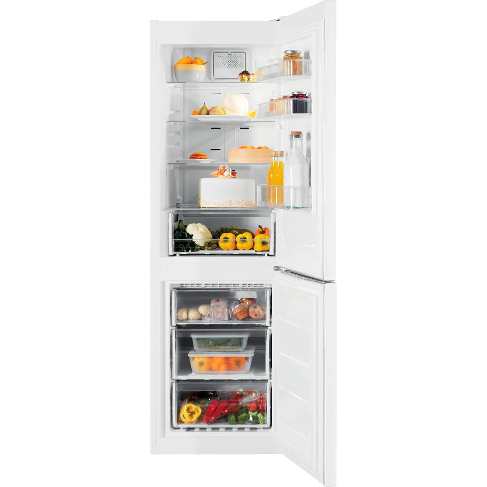 Indesit Kombinovaná chladnička s mrazničkou Volně stojící XIT8 T2E W Bílá 2 doors Frontal open
