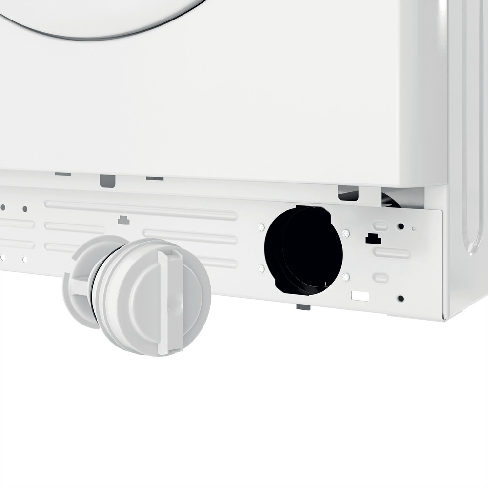 Indesit Waschmaschine Freistehend MTWE 81283E W DE Weiß Frontlader D Filter
