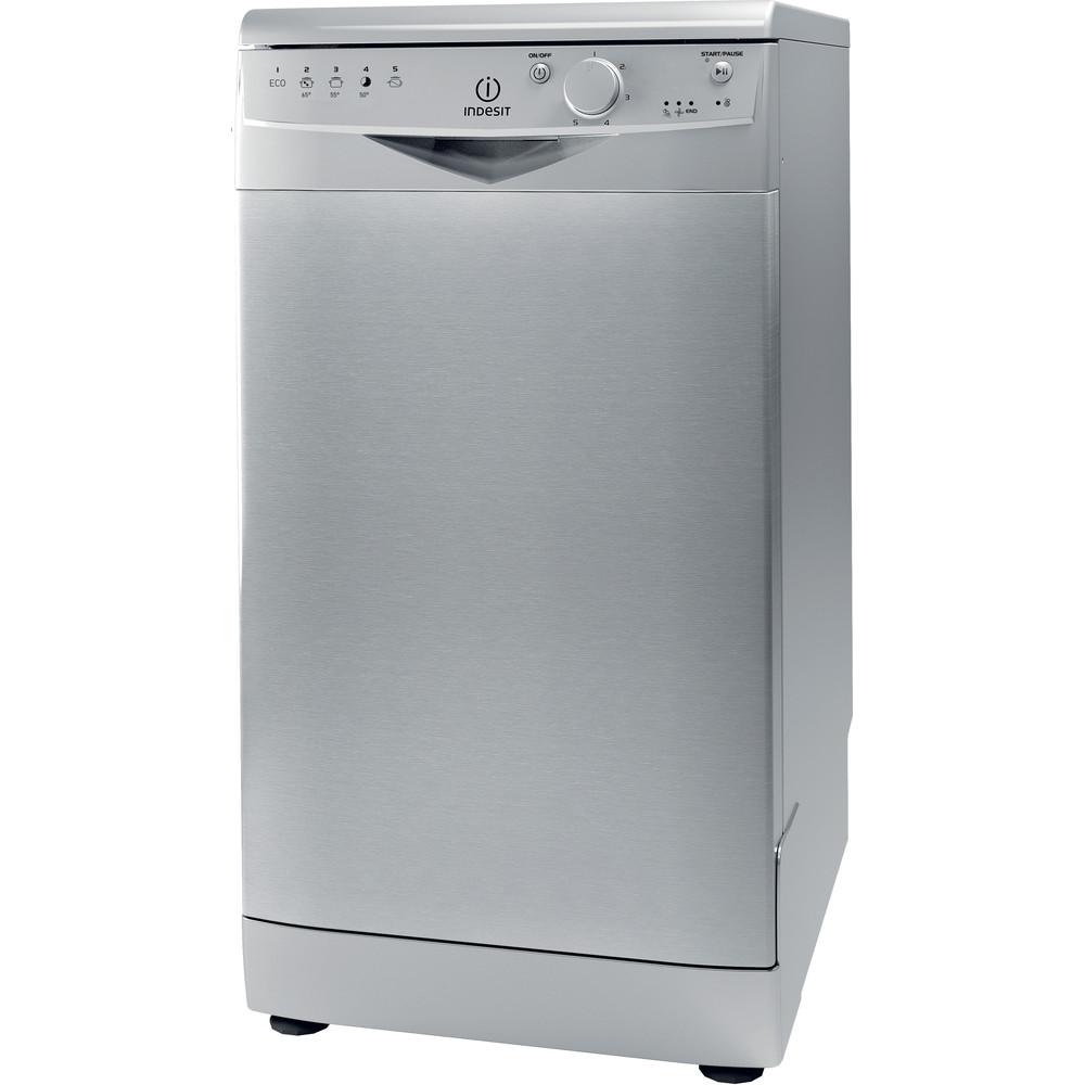 Indesit Посудомоечная машина Отдельно стоящий DSR 15B1 S EU Отдельно стоящий A Perspective