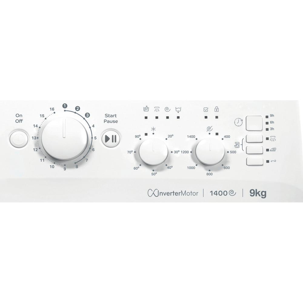 Indesit Washing machine Free-standing MTWC 91483 W UK White Front loader A++ Control panel