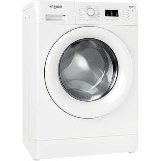 Whirlpool Πλυντήριο ρούχων Ελεύθερο FWSL 61051 W EE N Λευκό Front loader A+++ Perspective