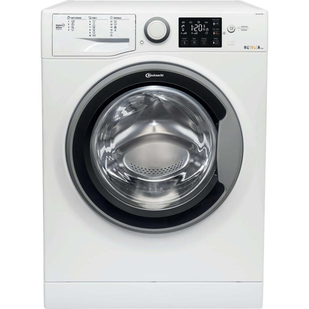 Bauknecht Kombineret vaskemaskine/tørretumbler Fritstående WATK Sense 96G6 EU Hvid Frontbetjent Frontal