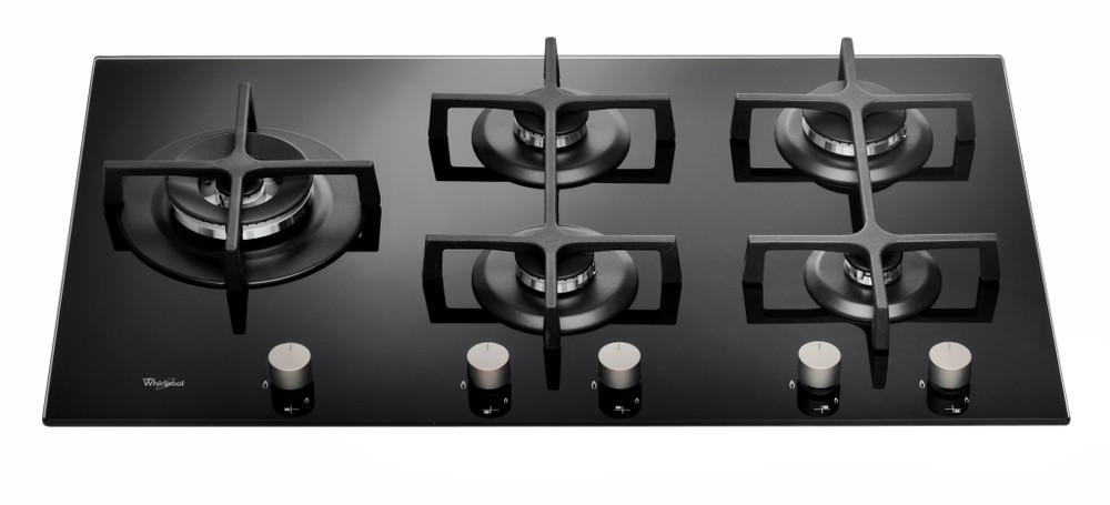 Whirlpool Hob GOA 9523/NB Black Gas Control panel