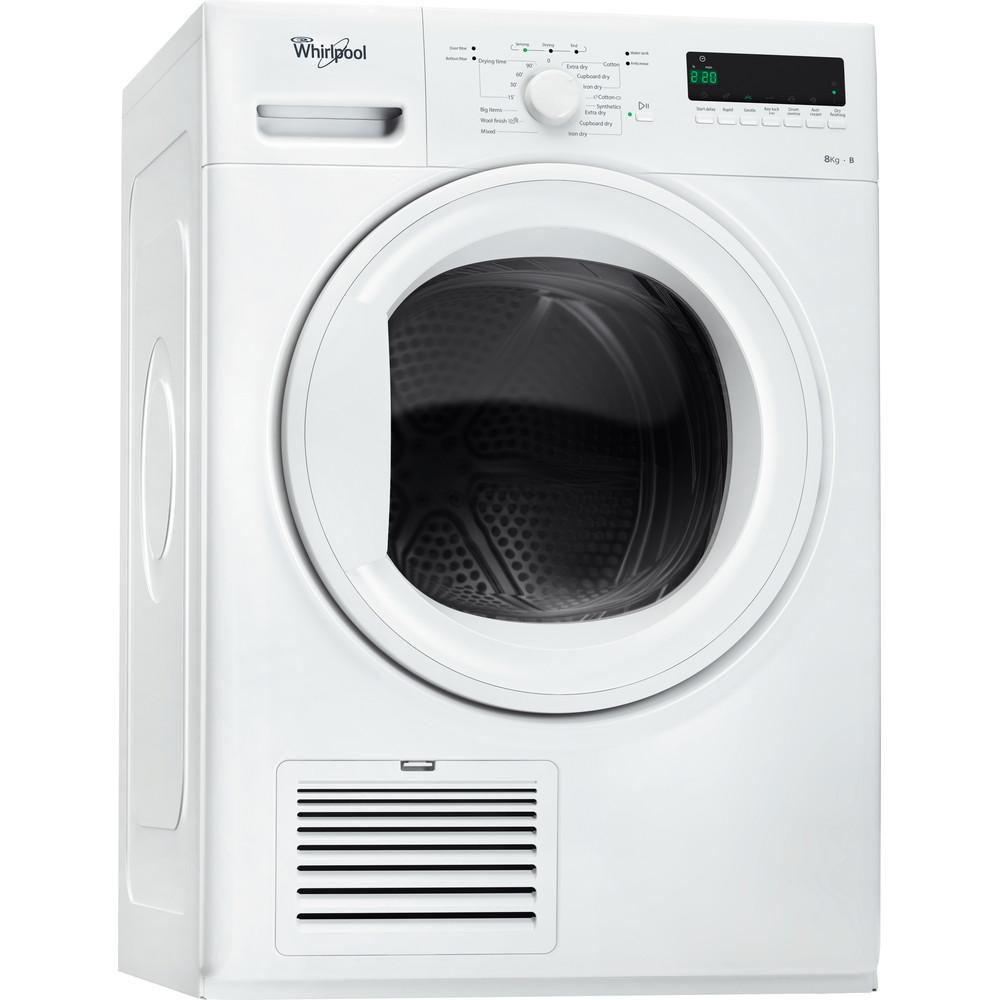 Whirlpool kondenstumlare: fristående, 8 kg - DDLX 80114