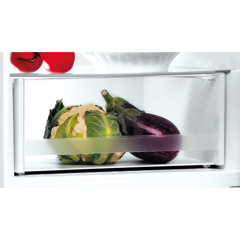 Indesit Kombinovaná chladnička s mrazničkou Volně stojící LI9 S2E W Global white 2 doors Drawer