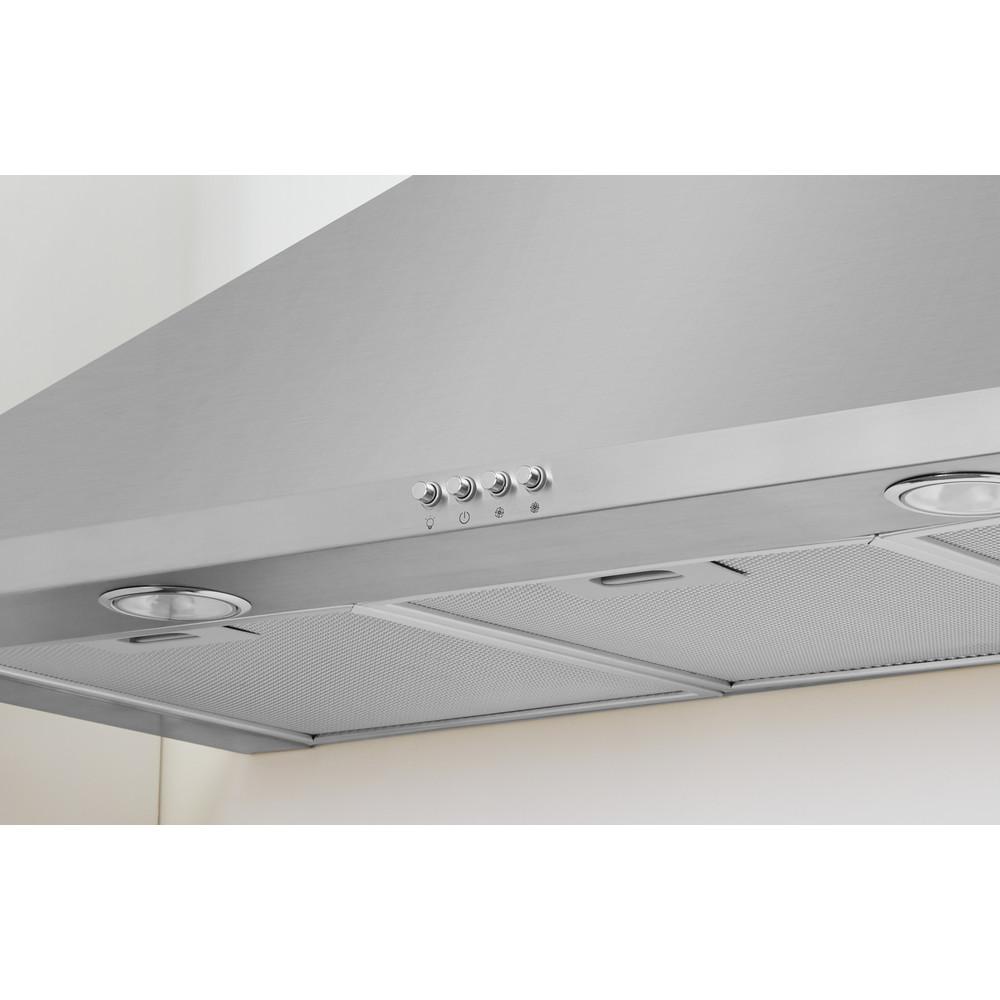 Indesit Exaustor Encastre IHPC 9.5 LM X Inox Wall-mounted Mecânico Lifestyle control panel