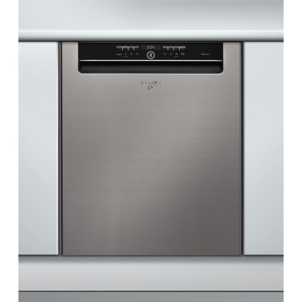 Whirlpool oppvaskmaskin: farge stål, 60 cm - ADPU 761 IX