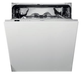 Whirlpool vgradni pomivalni stroj: Srebrna barva, Standardna širina - WCIC 3C33 P