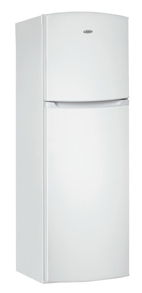 Whirlpool Combiné réfrigérateur congélateur Pose-libre WTE3111 W Blanc 2 portes Perspective