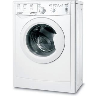 Indesit Пральна машина Соло IWSB 61051 C ECO EU Білий Front loader A+ Perspective