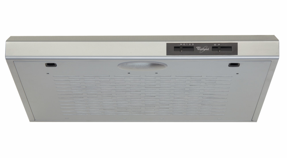 Whirlpool Hood Built-in WSLT 65F AS X Grey Wall-mounted Mechanical Frontal