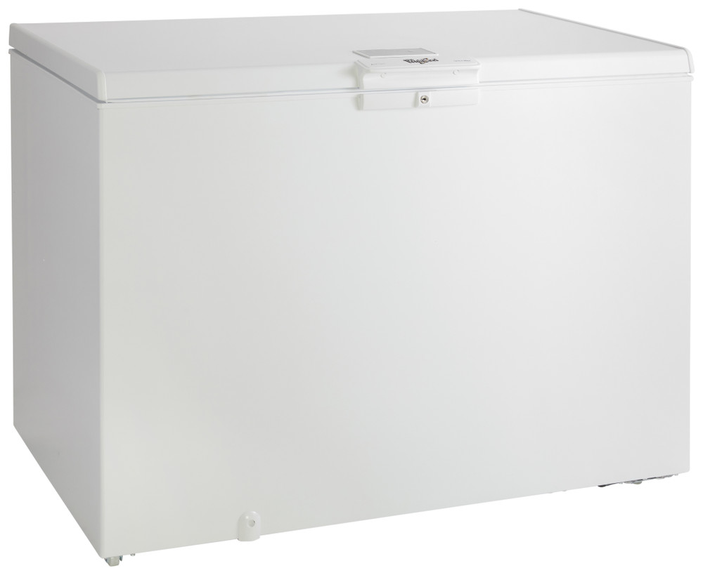 Whirlpool Pakastimessa Vapaasti sijoitettava W 311 FO 2 Valkoinen Perspective