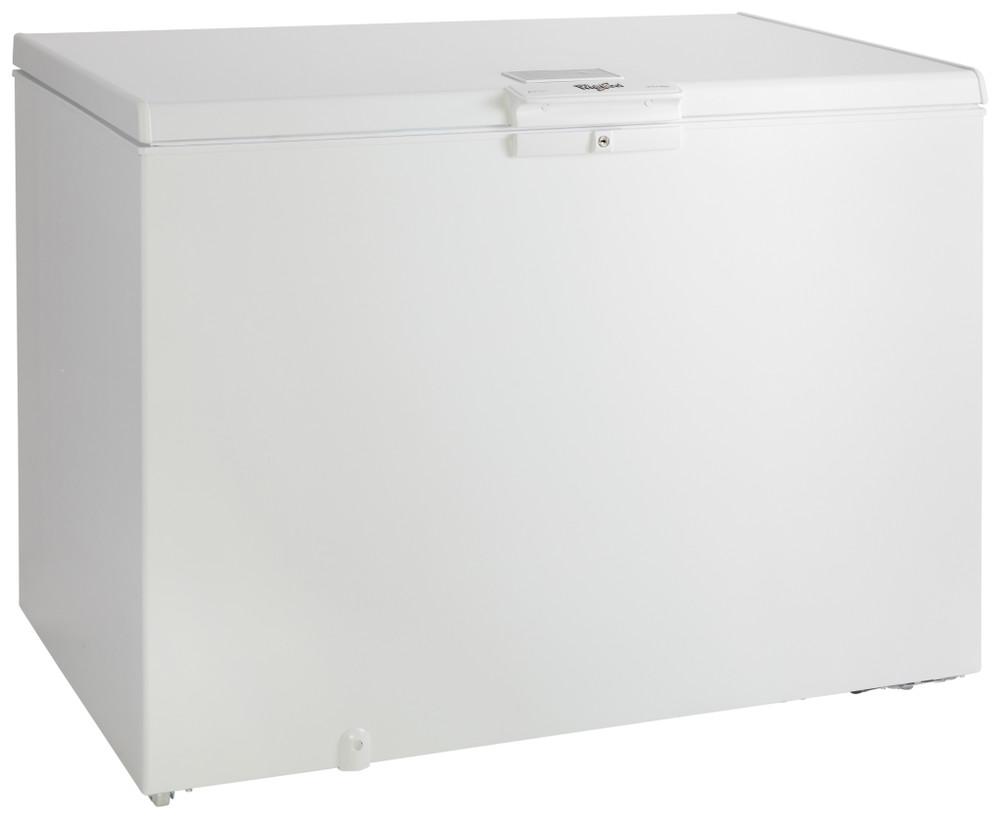 Whirlpool Fagyasztótérben Szabadonálló WHE31352 FO 2 Fehér Perspective