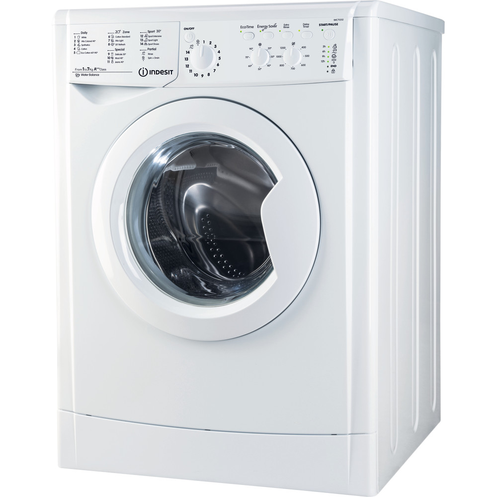 Freestanding Washing Machine Indesit Iwc 71252 Eco Uk M Indesit Uk