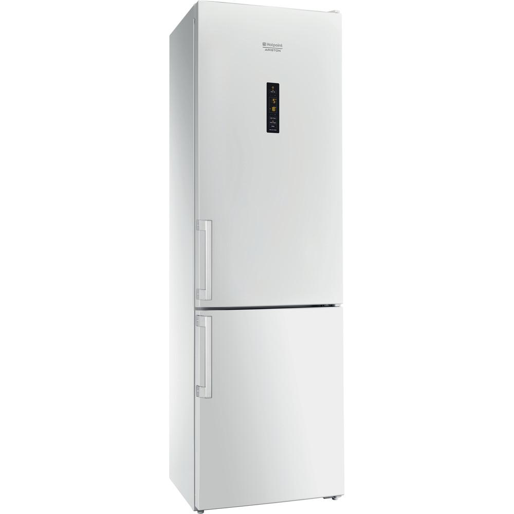 Hotpoint_Ariston Комбинированные холодильники Отдельностоящий HFP 8202 WOS Белый 2 doors Perspective