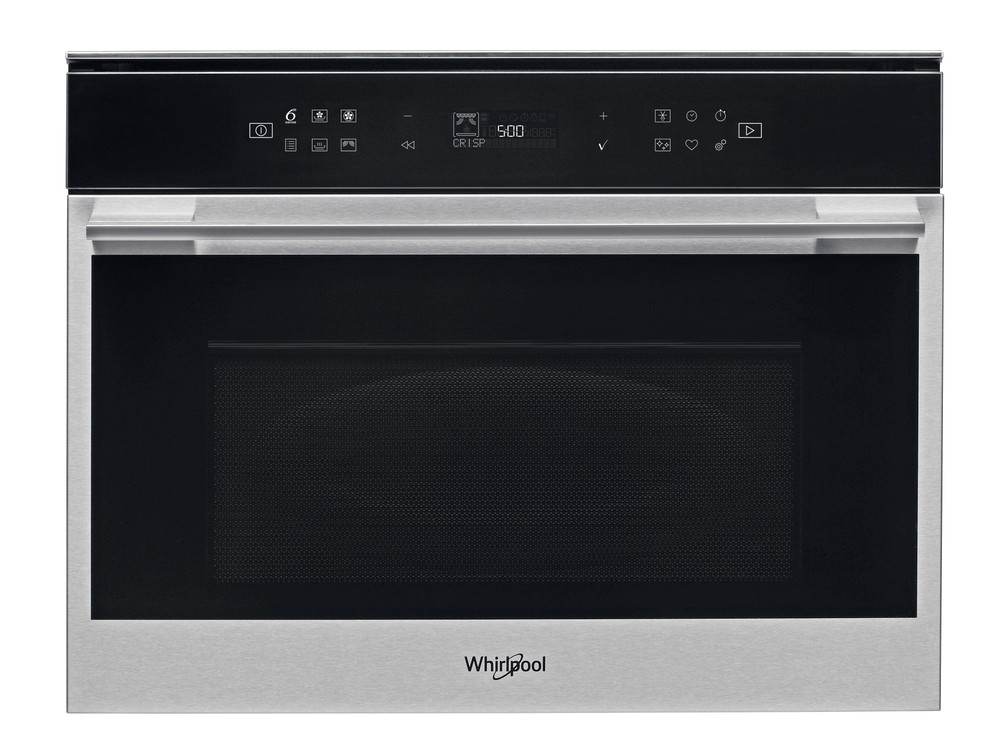 Whirlpool Microwave Built-in W7 MW461 Stainless Steel Electronic 40 MW-Combi 900 Frontal