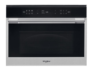 Whirlpool built- in microwave oven: stainless steel colour - W7 MW461