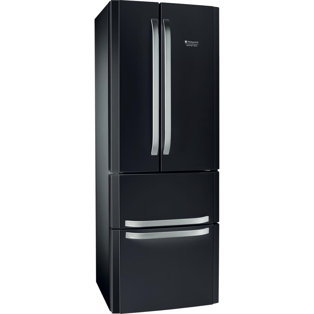 Hotpoint_Ariston Комбинированные холодильники Отдельностоящий E4D AA SB C Серебристо-черный 2 doors Perspective
