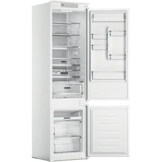 Whirlpool Kombinētais ledusskapis/saldētava Iebūvējams WHC20 T573 Balta 2 doors Perspective open