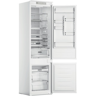 Whirlpool Kombinētais ledusskapis/saldētava Iebūvējams WHC20 T573 P Balta 2 doors Perspective open
