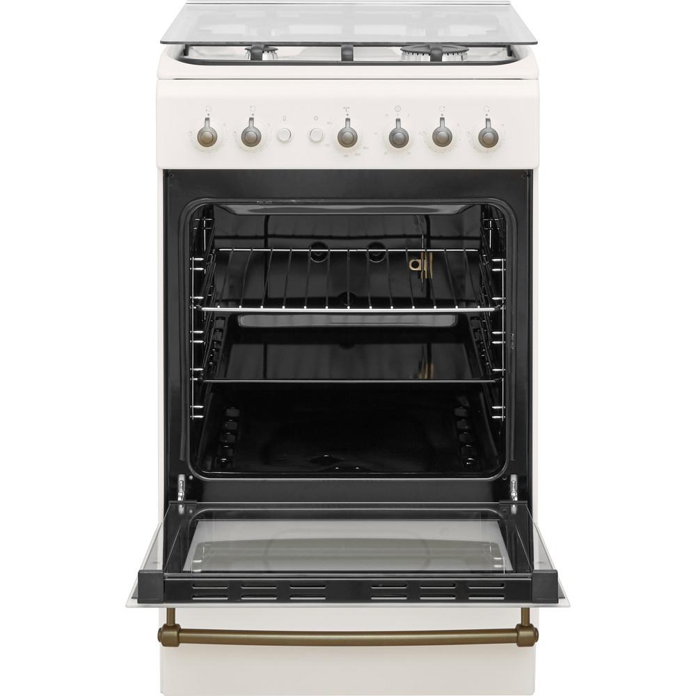 Indesit Cucina con forno a doppia cavità IS5G1MMJ/E Jasmine GAS Frontal open