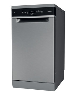 Whirlpool mosogatógép: Inox szín, keskeny - WSFO 3O23 PF X
