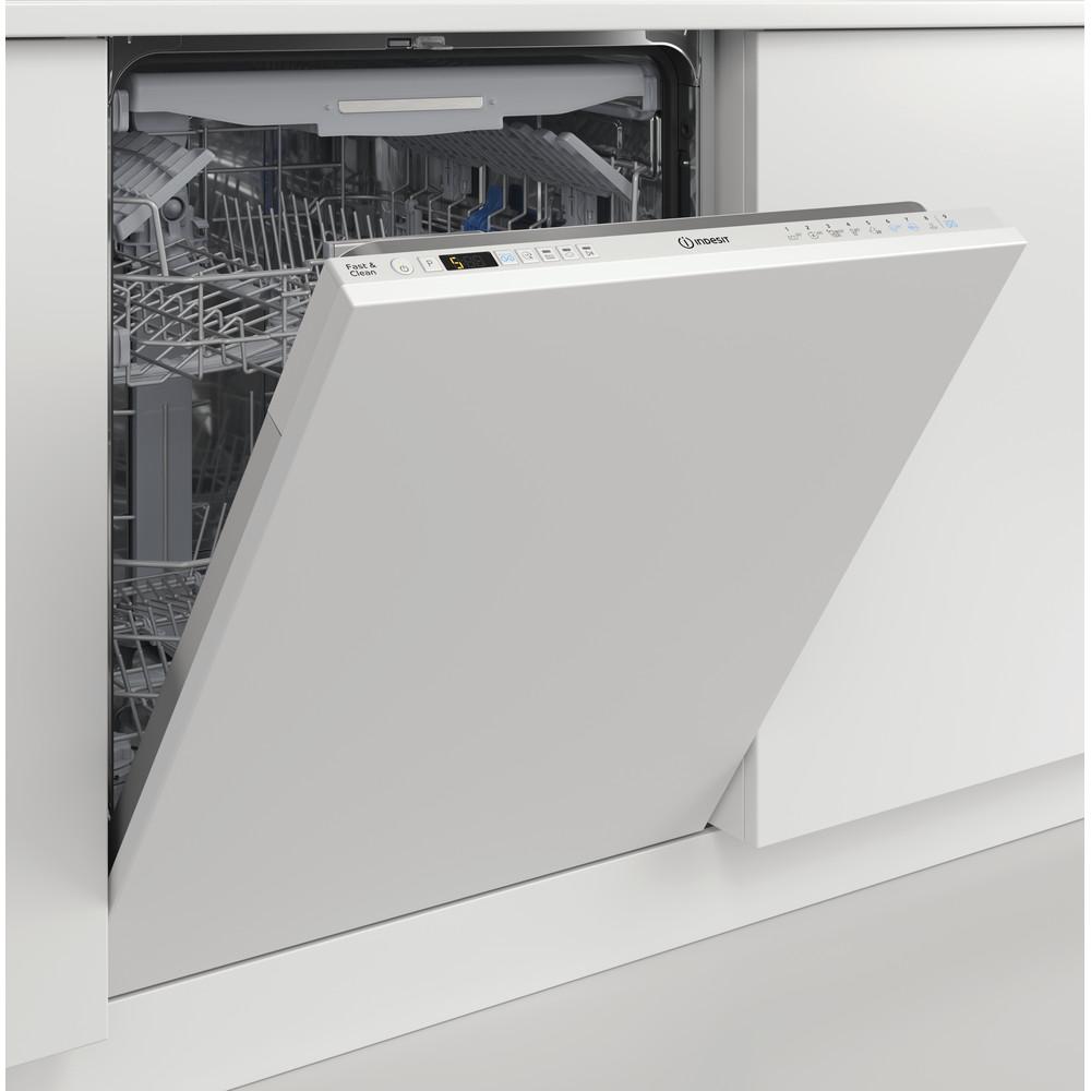 Indesit Lave-vaisselle Encastrable DIO 3T131 A FE Tout intégrable D Lifestyle perspective open