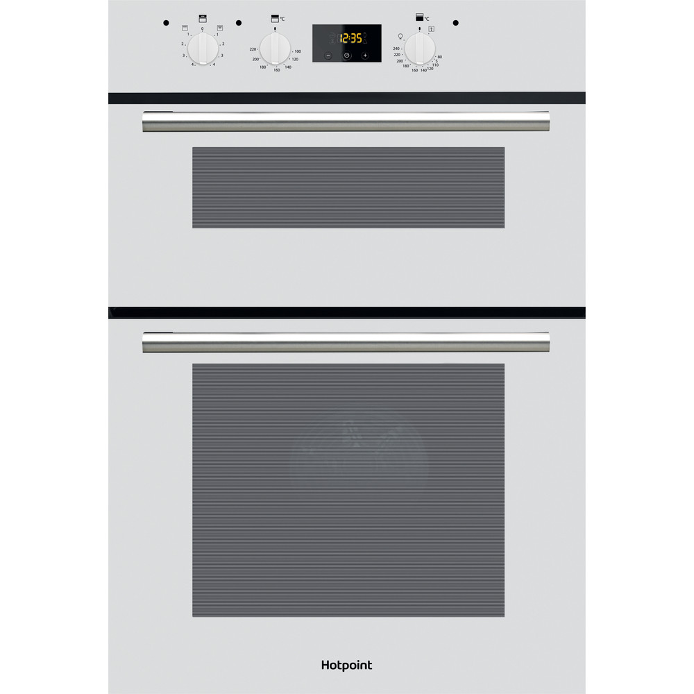 Hotpoint Double oven DD2 540 WH White A Frontal