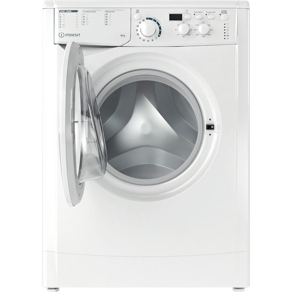 Indesit Veļas mazgājamā mašīna Brīvi stāvošs EWUD 41051 W EU N Balts Priekšējās ielādes F Frontal open
