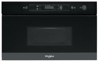 Whirlpool beépíthető mikorhullámú sütő: fekete szín - AMW 4900/NB
