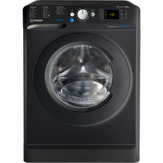 Indesit Washer dryer Free-standing BDE 861483X K UK N Black Front loader Frontal