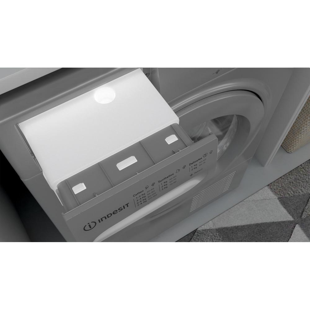Indesit Dryer I2 D81S UK Silver Drawer