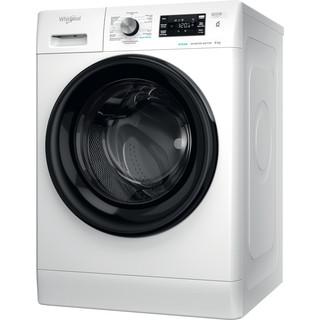 Whirlpool vrijstaande wasmachine: 8,0 kg - FFBBE 8638 BEV F