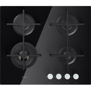 Газова варильна поверхня Whirlpool: 4 газові конфорки - GOA 6423/NB