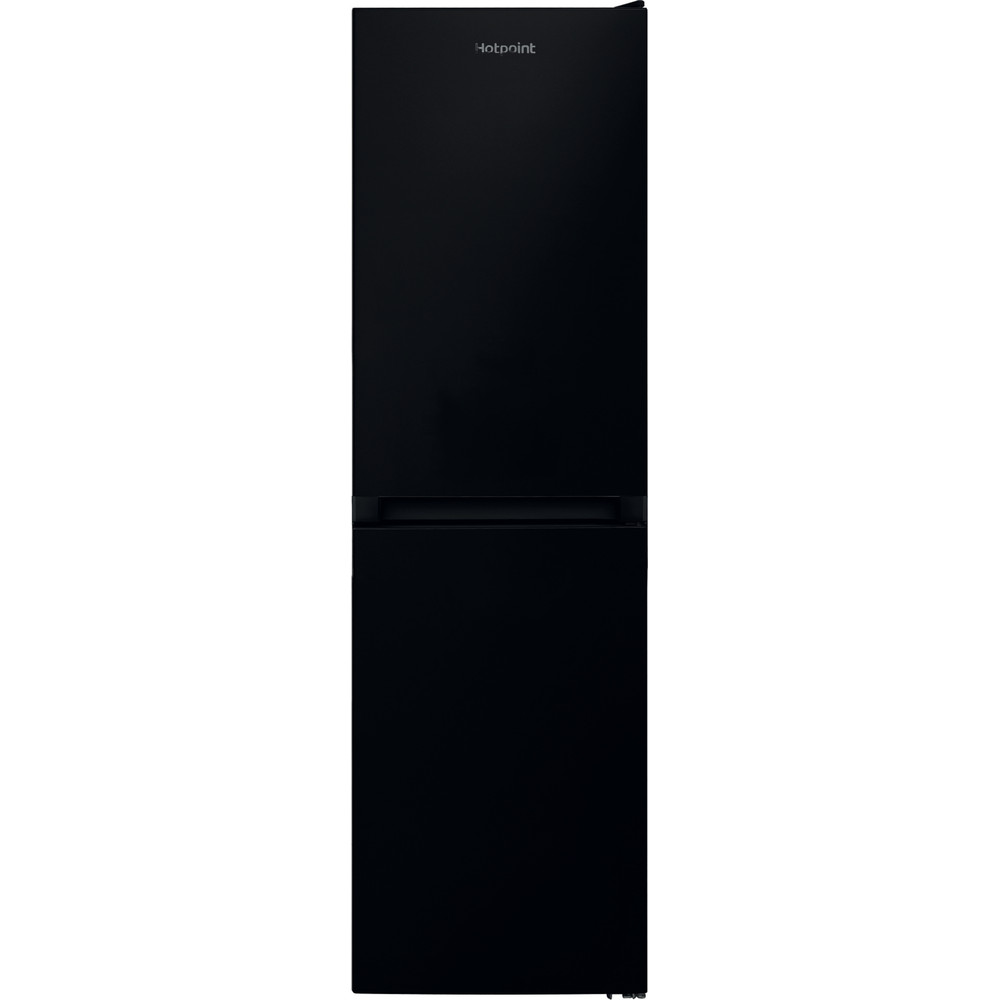 Hotpoint Fridge Freezer Free-standing HBNF 55181 B UK 1 Black 2 doors Frontal