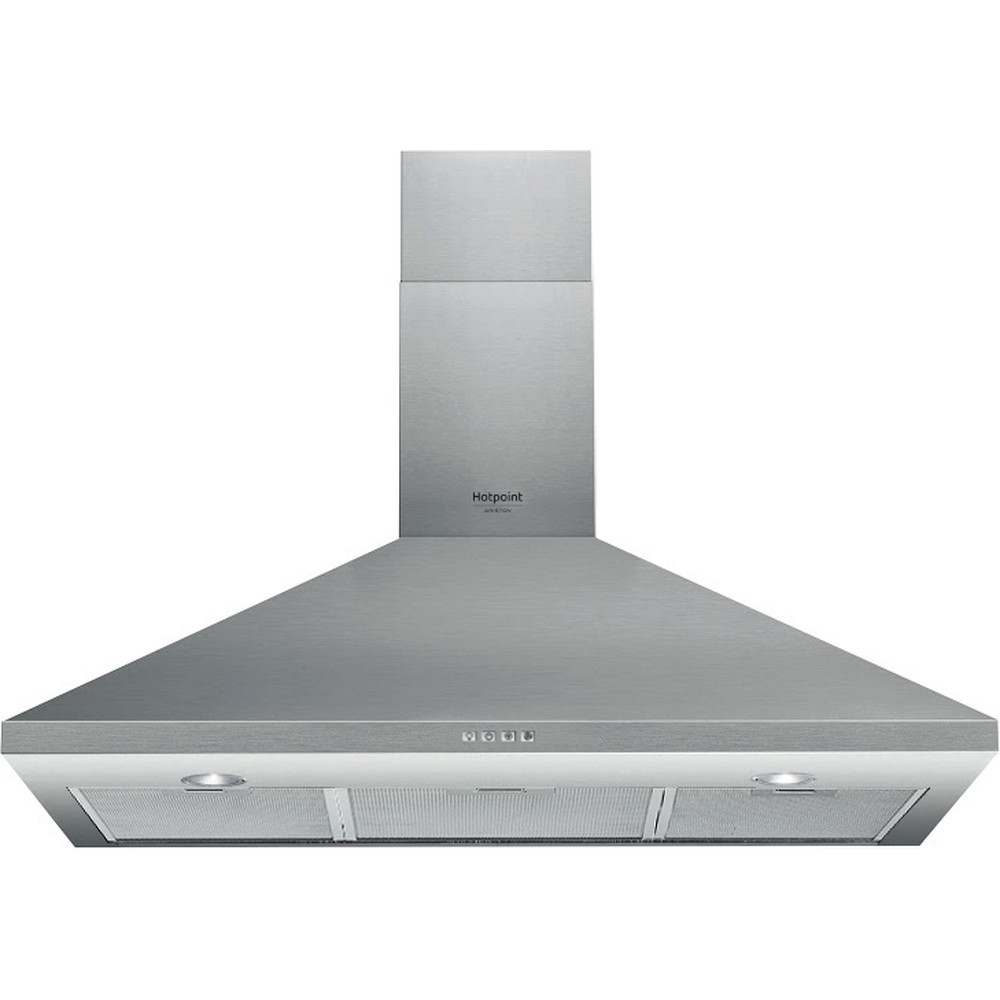 Hotpoint_Ariston Exaustor Encastre HHPC 9.4F LM X Inox Wall-mounted Mecânico Frontal