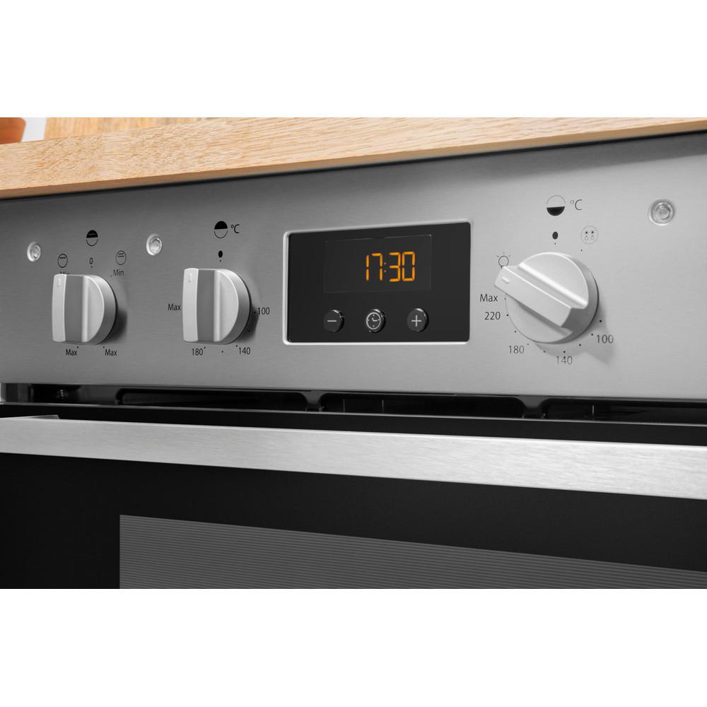 Indesit Double oven IDU 6340 IX Inox B Lifestyle control panel