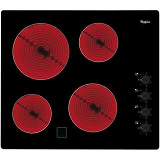Whirlpool Ploča za kuhanje AKM 9010/NE Crna Radiant vitroceramic Frontal