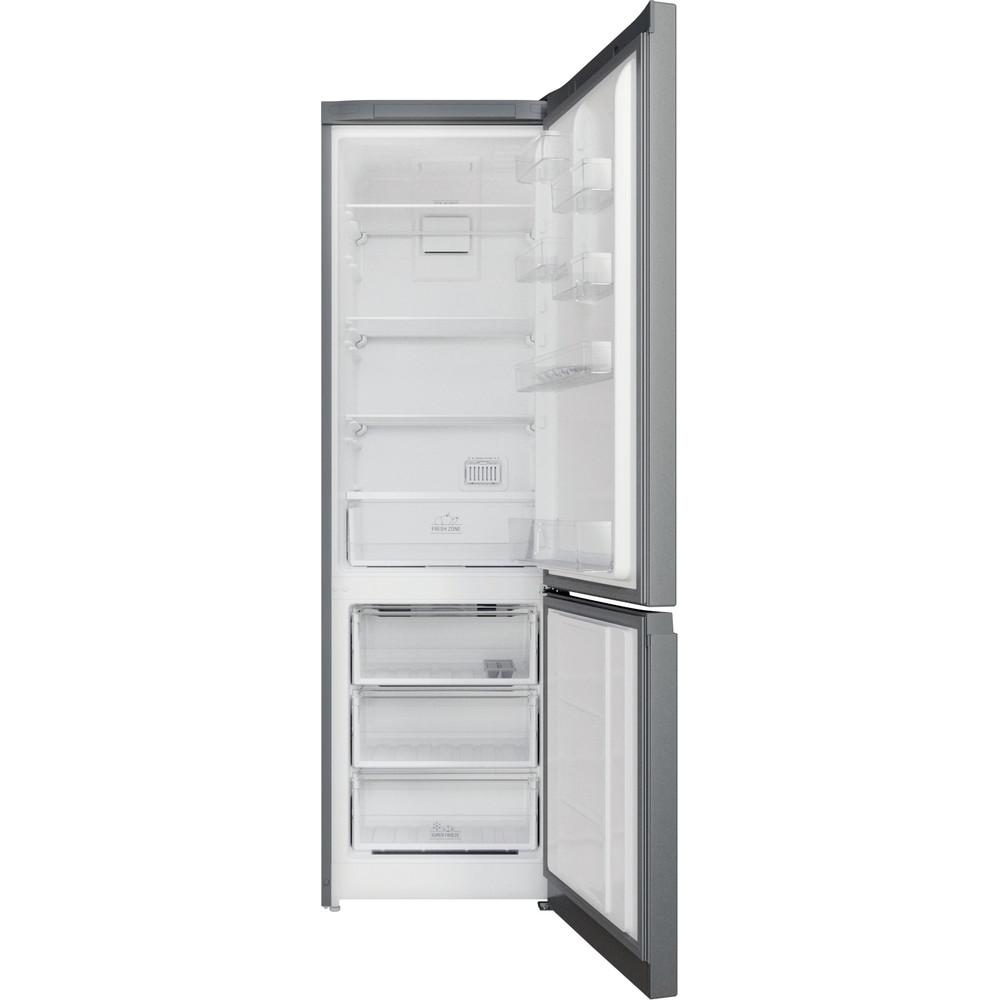 Hotpoint_Ariston Комбинированные холодильники Отдельностоящий HTD 5200 S Серебристый 2 doors Frontal open