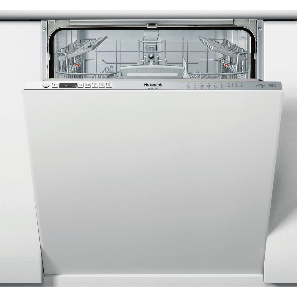 Hotpoint_Ariston Посудомоечная машина Встраиваемая HIO 3T132 W O Full-integrated A Frontal