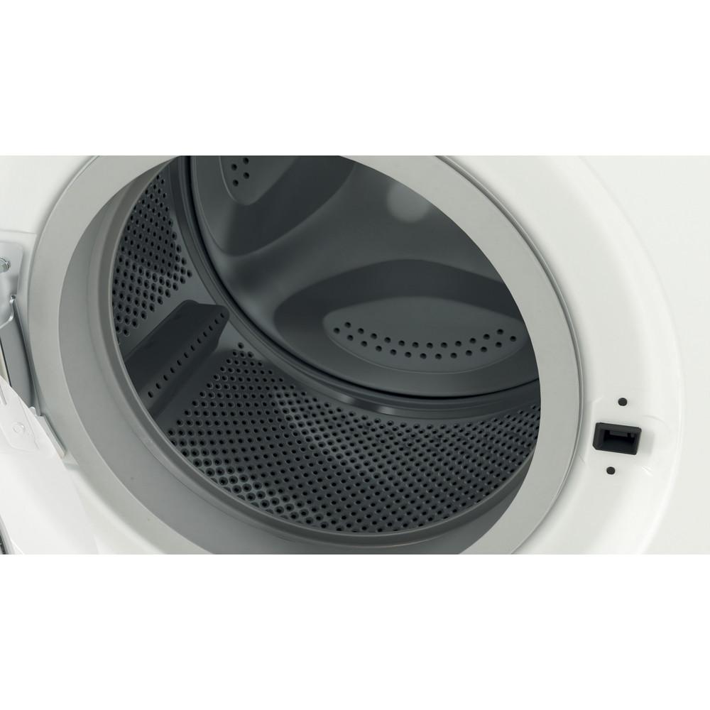 Indesit Washing machine Free-standing EWD 81483 W UK N White Front loader D Drum