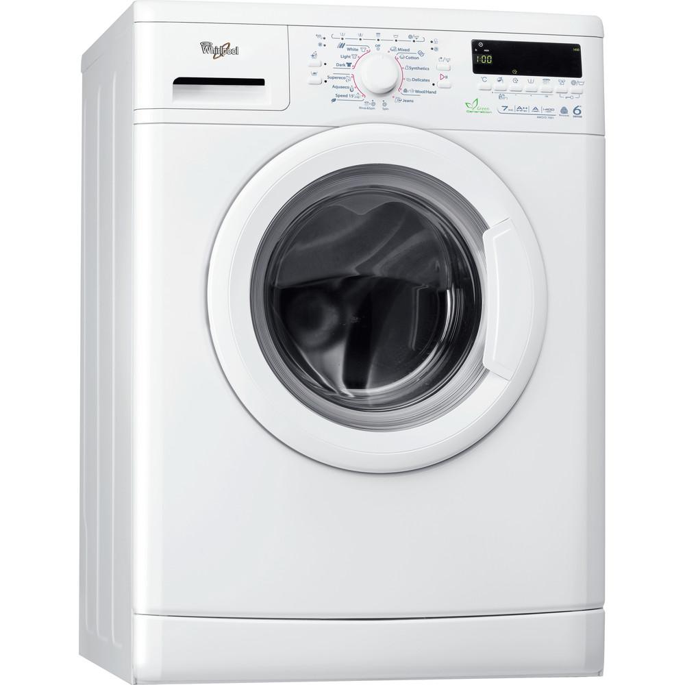 Whirlpool frontmatad tvättmaskin: 7 kg - AWO/D 7001