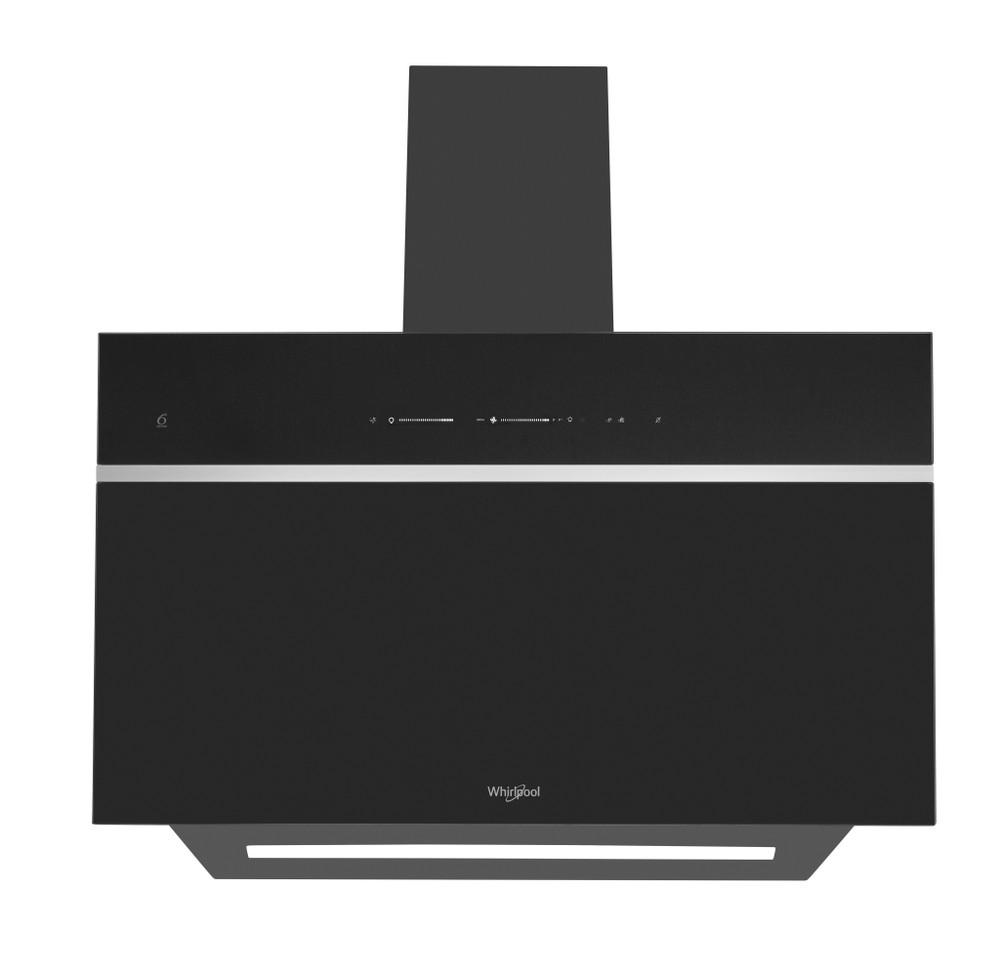 Whirlpool Hotte Encastrable WHVS 90F LT A K Noir Mural Electronique Frontal