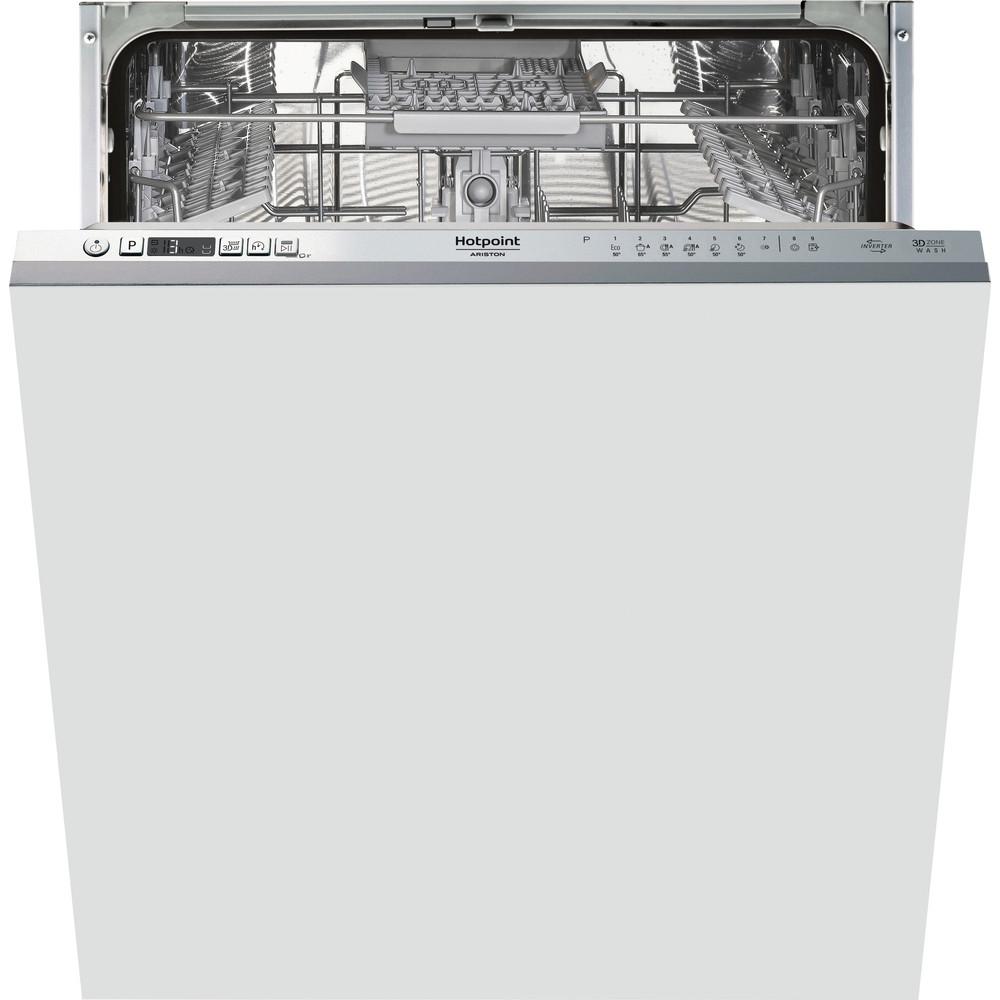 Hotpoint_Ariston Máquina de lavar loiça Encastre HIC 3C26 CW Encastre total E Frontal