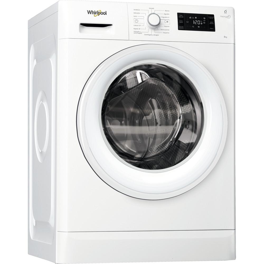 Lavadora carga frontal libre instalación Whirlpool 8kg A+++-10% FWG81484WB SP – FreshCare+