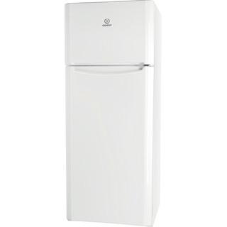 Indesit Combinazione Frigorifero/Congelatore A libera installazione TIAA 10 V.1 Bianco 2 porte Perspective