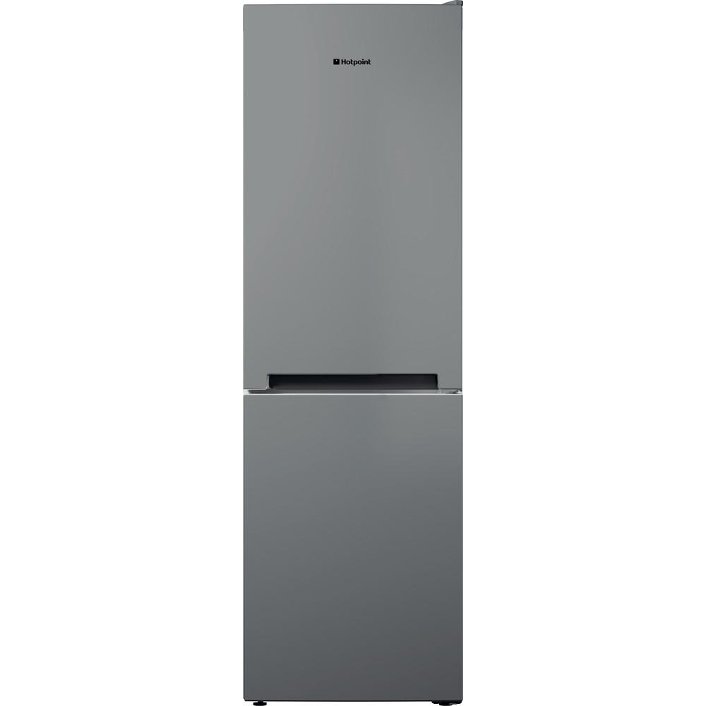 Hotpoint Fridge Freezer Free-standing DC 85 N1 G Graphite 2 doors Frontal