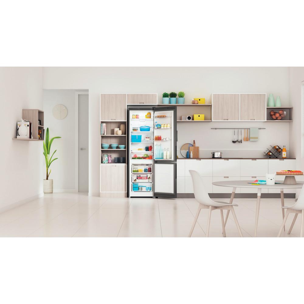 Indesit Холодильник с морозильной камерой Отдельностоящий ITR 4200 S Серебристый 2 doors Lifestyle frontal open