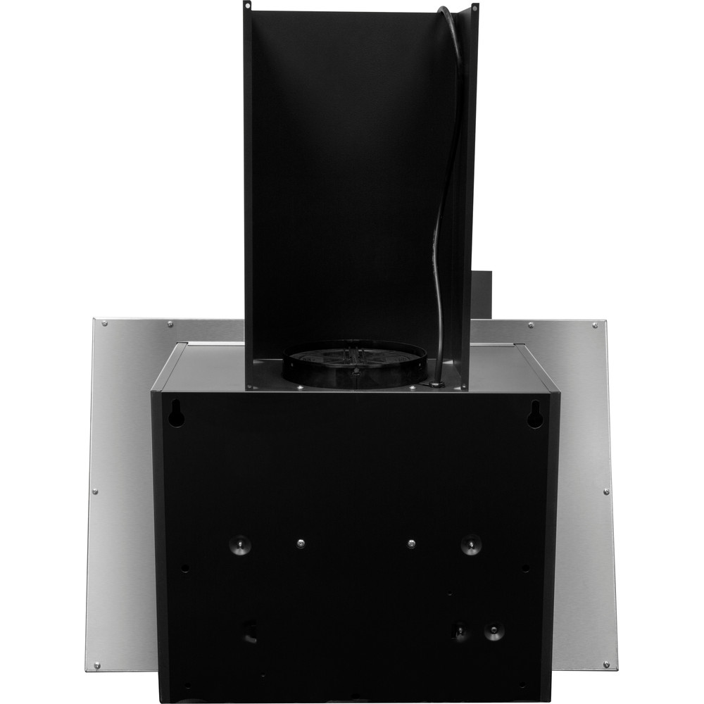 Indesit HOOD Built-in IHVP 6.4 AL K Black Wall-mounted Mechanical Back / Lateral