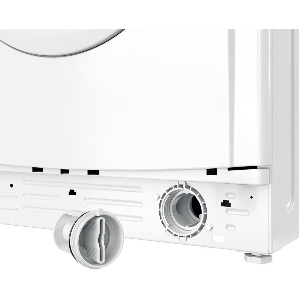 Indesit Lavabiancheria A libera installazione EWC 81251 W IT N Bianco Carica frontale F Filter